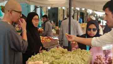 Umroh Taif Murah Pasar Sayur dan Buah