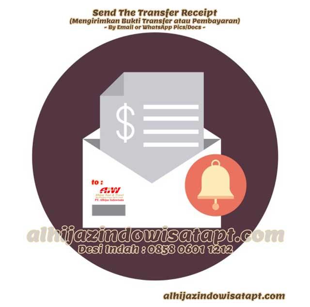 Mengirimkan Bukti Pembayaran